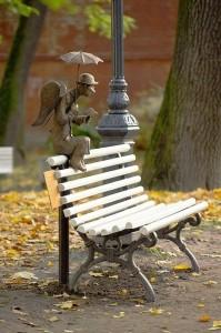 Петербургский Ангел из Александровского сада