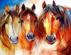 тройка лошадей-1
